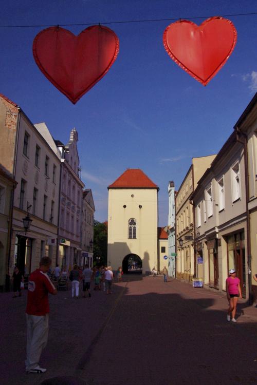 przy okazji przeglądania staroci; chyba tego nie wstawiałam- Chełmno (2010) - miasto zakochanych