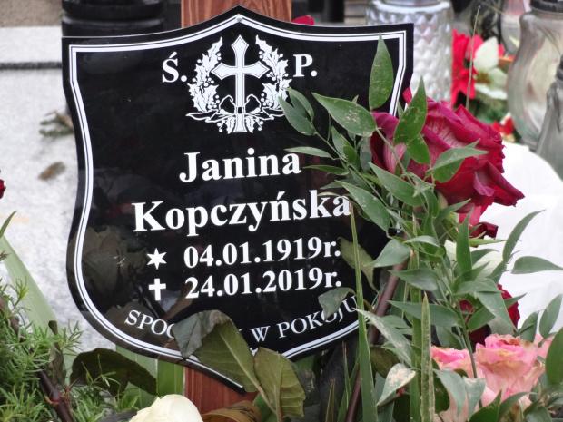 Janina Kopczyńska 04.01.1919 24.01.2019 #Gniezno 100 #lat