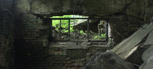 Westerplatte, ruiny koszar