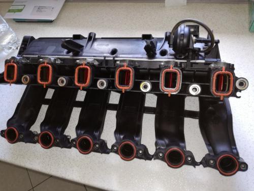 bmw e60 525d klapki w kolektorze