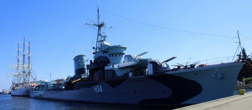 ORP Błyskawica i Dar Pomorza