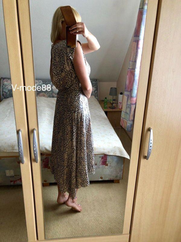 H&M Conscious Exclusive Blogger Kleid SS19 Rückenfrei 38 M ...