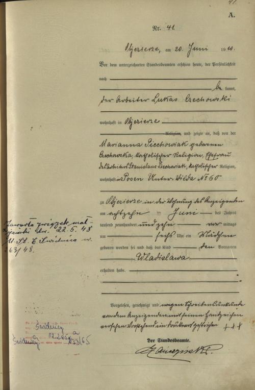 1910 U Piechowiak Władysława