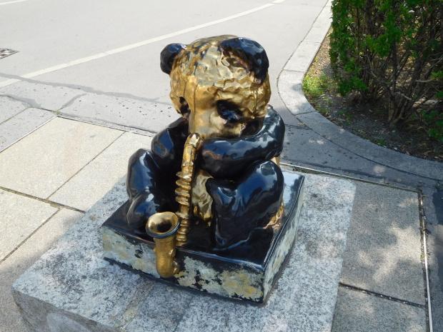 Muzykalna panda - wspomnienie z Wiednia