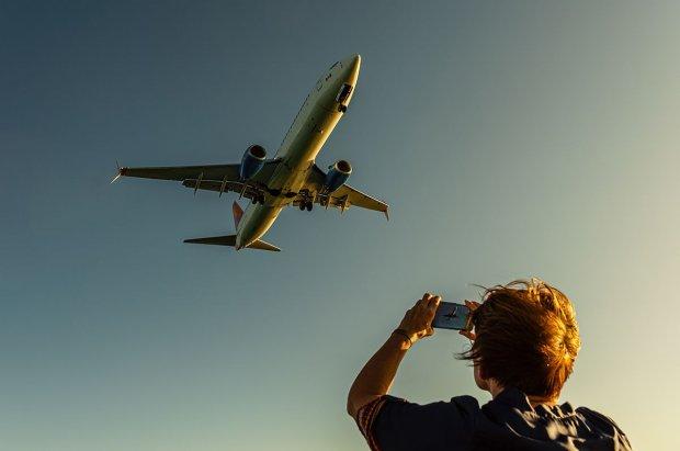 Fotka z samolotem