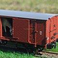 Model wagonu towarowego P.K.P do przewozu koni. Skala 1:87 H0. Epoka II. Konwersja rocketman. #PKP #wagon #towarowy H0