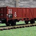Model wagonu towarowego bez hamulca stosowanego na P.K.P. Skala 1:87 H0. Epoka II. Konwersja rocketman. #PKP #wagon #towarowy H0