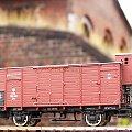 Wagon towarowy P.K.P. w skali 1:87. Epoka II #PKP #wagon #towarowy H0