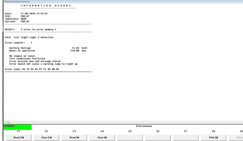 BMW-klub pl • Zobacz temat - Kod błędu, INPA, Check Engine