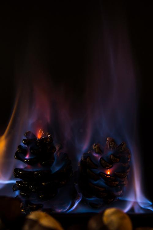 W ogniu