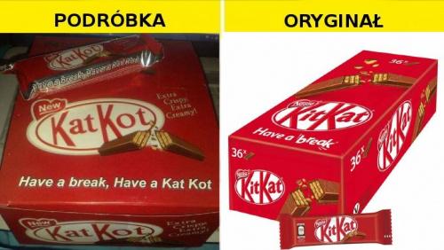 #Podróbka Kit Kat