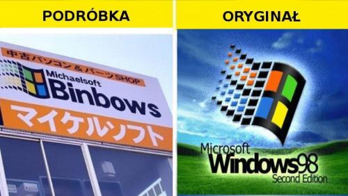 #Podróbka #Windows