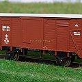 Wagon kryty małych gabarytów kolei PKP serii Km. Epoka II. Skala 1:87 #Wagon #PKP Km