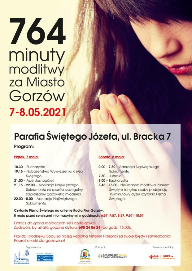 764 minuty modlitwy za miasto Gorzów