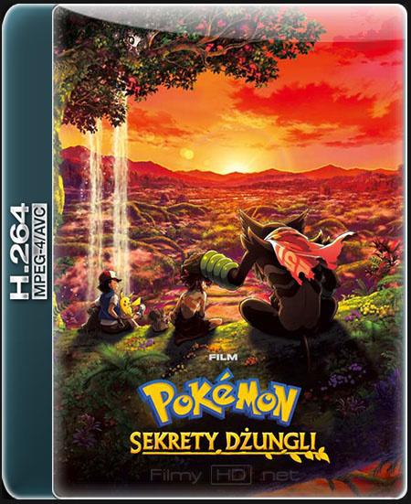 Pokémon: Sekrety dżungli / Pokémon the Movie: Secrets of the Jungle / Gekijouban Poketto monsutâ: koko (2020) 1080p [MULTi] NF.WEB-DL.x264 / DUBBING PL