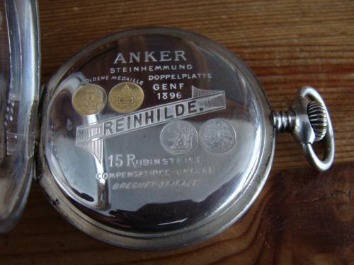 ZENITH - Zenith H.Moser et Zenith Reinhilde - montres gousset Ae0d067b14417c9dmed